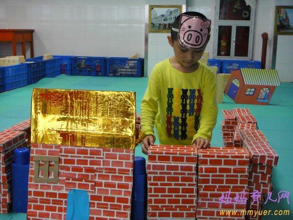 幼兒園大班音樂活動《蓋房子》教案及反思