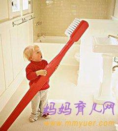 孩子在换牙期也要认真刷牙