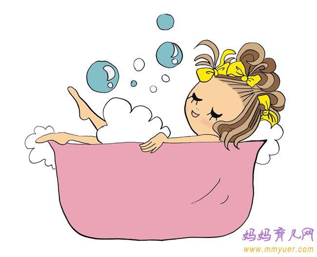 幼儿园小班艺术活动《妈妈陪我洗澡》教案及反思
