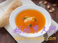 1岁1岁半宝宝食谱 香浓南瓜汤的做法(图)