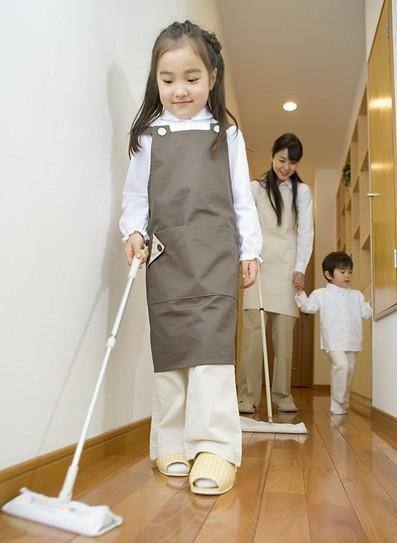德国立法规定 6岁以上的孩子必须要做家务