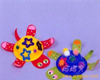 儿童手工制作立体模型(图)
