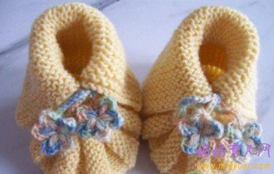 多款宝宝鞋编织花样图解