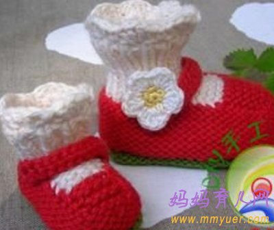 27款0-1岁宝宝鞋棒针编织花样