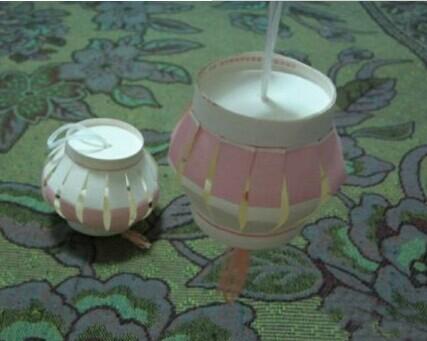 幼儿园手工制作——灯笼的折法 - 妈妈育儿网