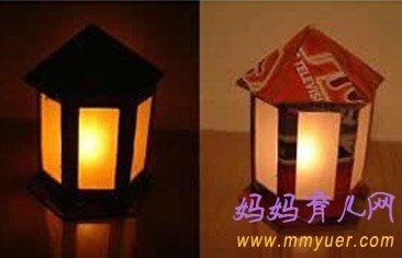 教儿童手工制作花灯的方法(图片)