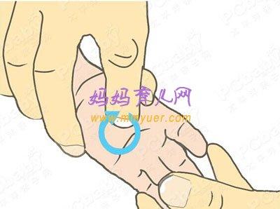 5步小儿推拿法 轻松治疗感冒咳嗽(图)(2)