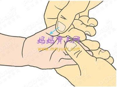 5步小儿推拿法 轻松治疗感冒咳嗽(图)