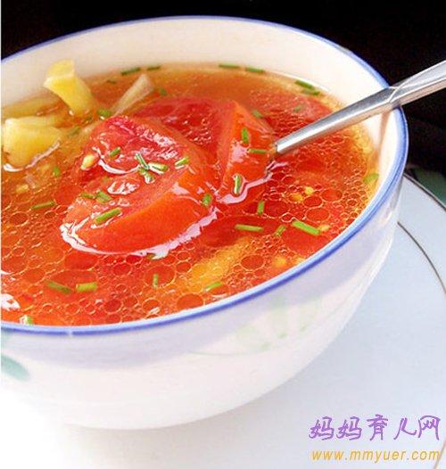 3岁宝宝补锌食谱:萝卜番茄汤