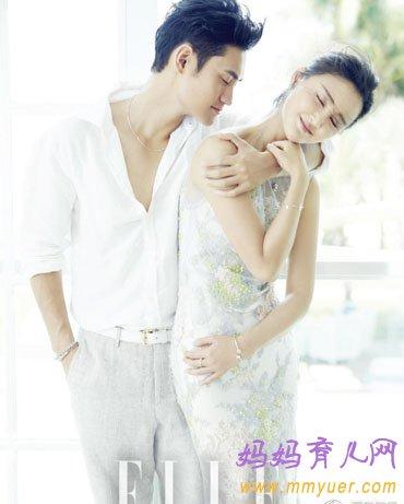 张歆艺袁弘婚纱照曝光 唯美 浪漫 宠物八戒超抢镜 5