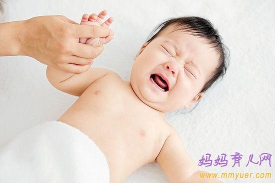 宝宝肚子疼可大可小,辨别六大部位后对症下药
