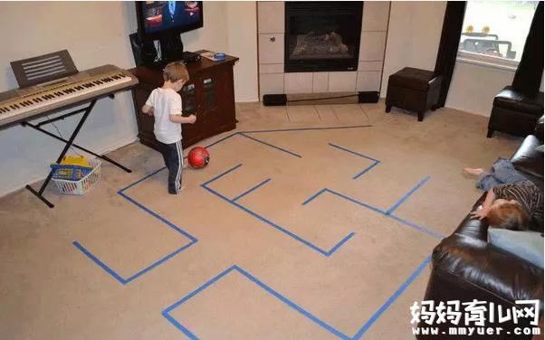 让孩子玩上一整天也不吵着出门的小游戏 雾霾天也快乐