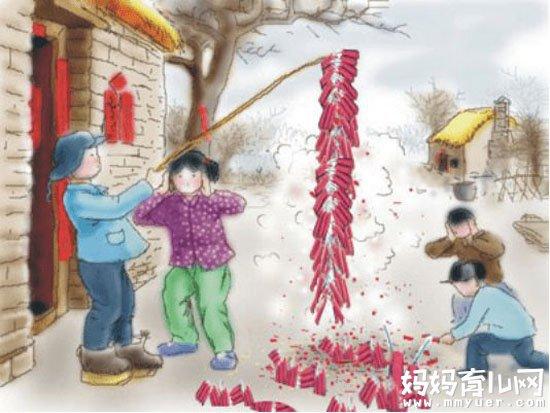 过年为什么要放鞭炮你造吗 儿童燃放爆竹隐患大