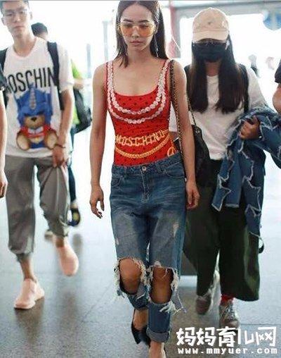 蔡依林穿泳衣上街 时尚天后就是这么的与众不同