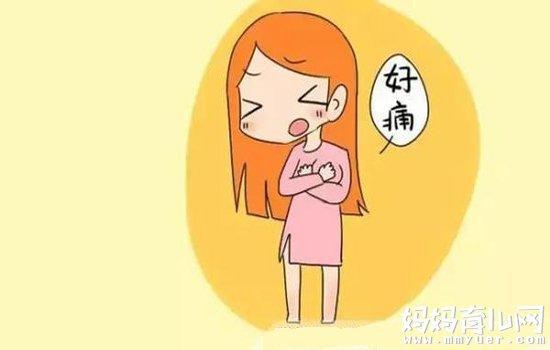 来月经前乳房胀痛的原因 经期前乳房疼痛难耐怎么办