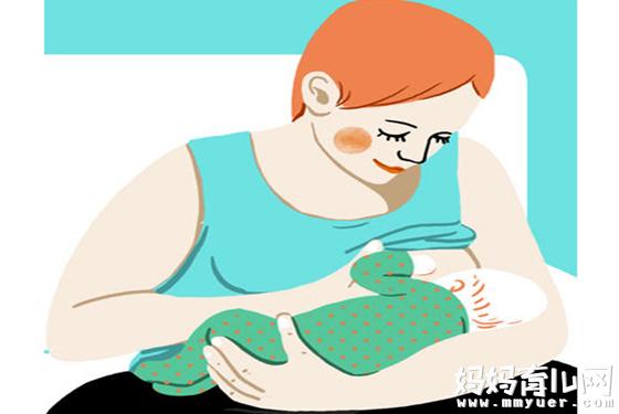 新生儿哺乳姿势与技巧 7张图让麻麻你轻松学喂奶