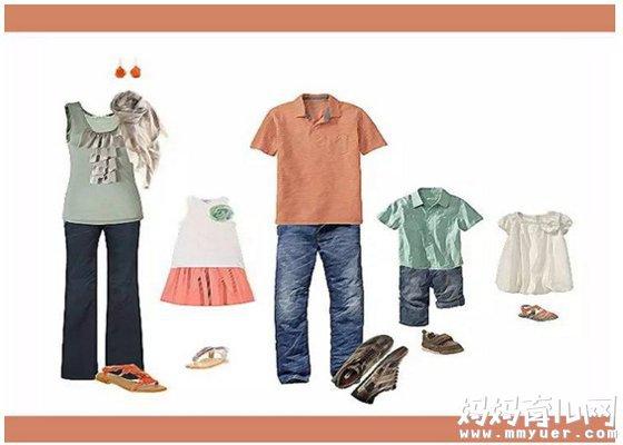 亲子照妈妈穿什么服装好看 拍亲子照有什么注意事项