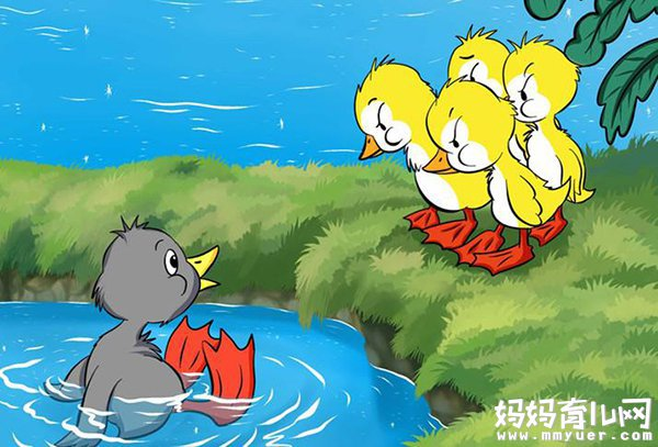 《丑小鸭的故事》文字版 百听不厌的童话故事