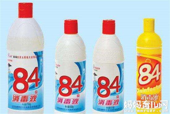 84消毒液杀菌消毒效果好 宝宝的衣服可以用84消毒液洗吗