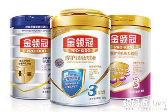 伊利金领冠奶粉怎么样,好吗?旗下不同系列奶粉价格参考