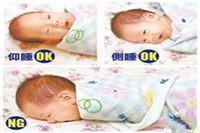 透过新生儿睡姿正确图片 一分钟了解不种睡姿的优缺点
