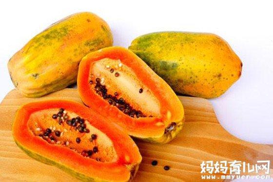 孕妇可以吃木瓜吗?记住这几种孕妇不能吃的食物黑名单