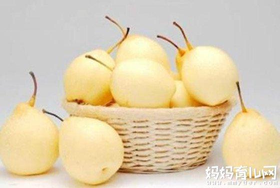 孕妇可以吃梨吗?记住了,怀孕早期孕妇吃梨有四个好处