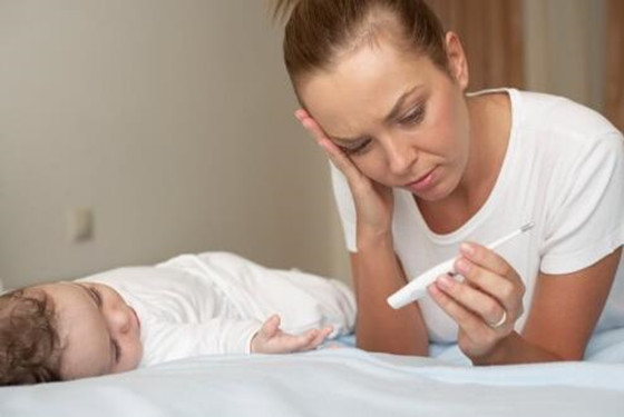 宝宝发烧有规律 小孩发烧怎么办可以这样处理(39度以下)