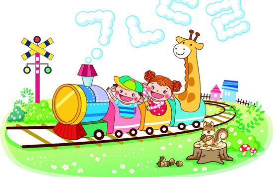 托班语言教案《小火车爱上幼儿园》