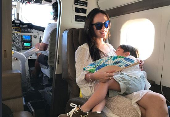 霍思燕二胎女儿哎哟喂照片神似嗯哼 霍思燕怀二胎大肚照