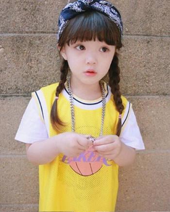 可爱超萌的小女孩发型 萌娃辣妈亲子扎发发型