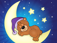 儿童睡前小故事《小熊造月亮》 有梦便会成真