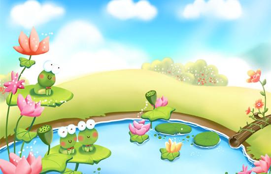 托班音乐游戏《下蝌蚪找妈妈》感受音乐的快乐