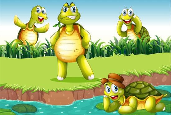 托班语言教案《小乌龟找朋友》 感受小乌龟的情绪