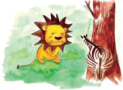 儿童睡前故事《小狮子理发》 做个讲卫生的好孩子
