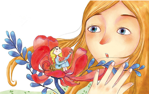 安徒生童话故事《拇指姑娘》 儿童经典童话故事大全