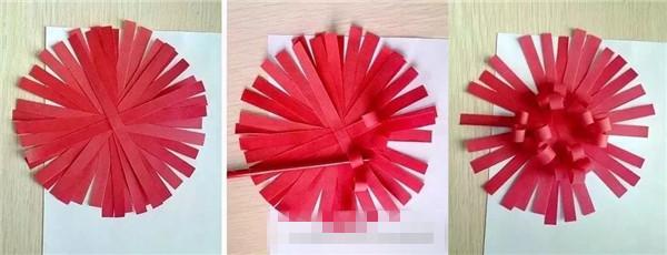 清明节手工:清明节手工菊花制作步骤 幼儿园清明节菊花制作大