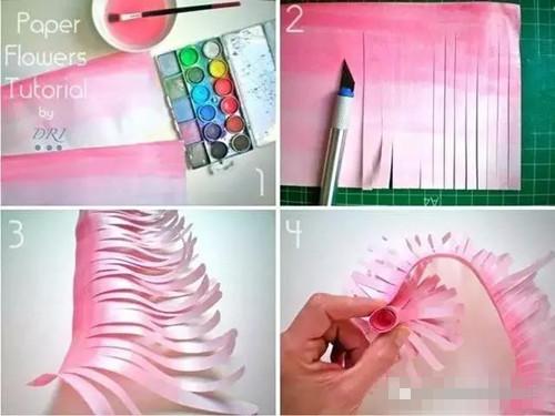 幼儿园清明节必备手工 关于清明节多种手工纸花做法任你选择