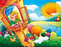 格林童话故事《莴苣姑娘》百听不厌的经典儿童故事大全