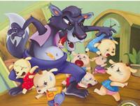 格林童话《狼和七只小羊》 最温馨的儿童睡前故事