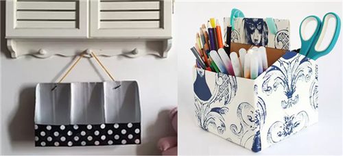 废物利用:牛奶盒也可以做手工? 非常适合幼儿园环创和DIY