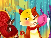 格林童话《猫和老鼠合伙》 孩子爱听的格林童话故事大全