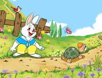 伊索寓言故事《龟兔赛跑》 孩子必听的伊索寓言故事大全