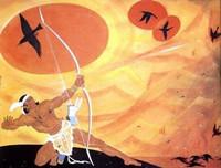 神话故事《后羿射日》 儿童必看的经典神话故事大全