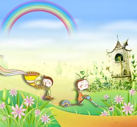 托班语言教案《春天是这样来的》 了解春天里的常见事物
