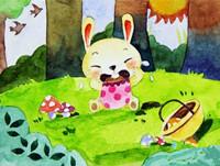 托班安全教育《小白兔迷路了》 知道迷路后找家长的方法