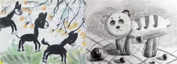 孩子学绘画的规律 看看你家孩子的年龄应该怎样学画画!