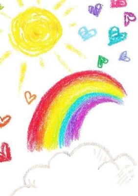 托班语言教案《太阳的颜色》 知道大自然