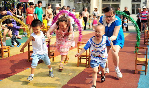 幼儿园亲子游戏大全 六一儿童节亲子活动就要这么玩!