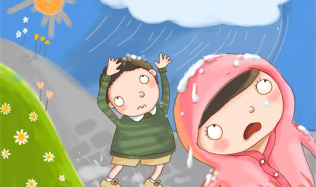 托班音乐教案《大雨和小雨》 在音乐中感受大雨